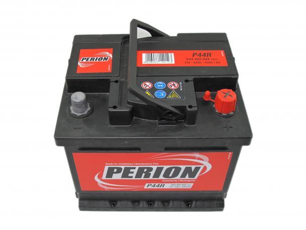 Perion autó akkumulátor akku 12v 44ah jobb+