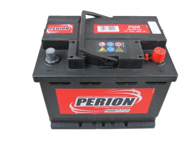 Perion autó akkumulátor akku 12v 56ah jobb+