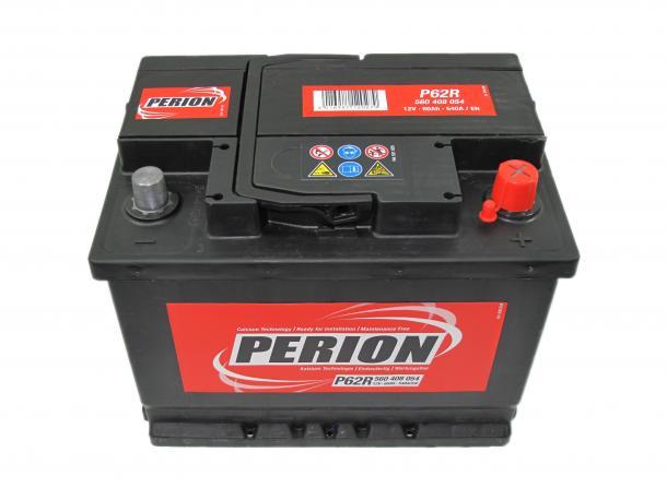 Perion autó akkumulátor akku 12v 60ah jobb+