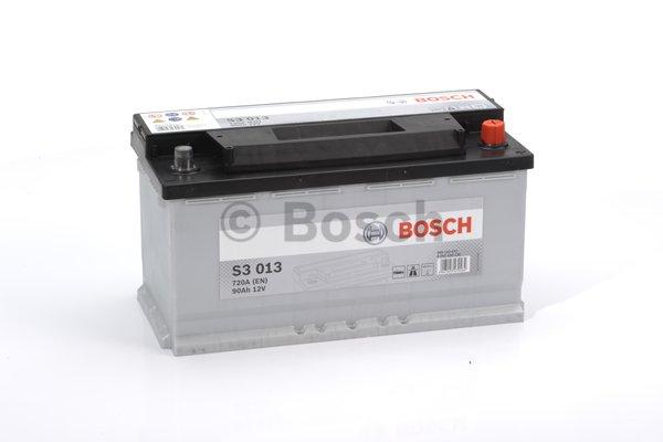 Bosch S3 akkumulátor 12v 90ah jobb+