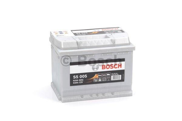 Bosch S5 akkumulátor 12v 63ah jobb+