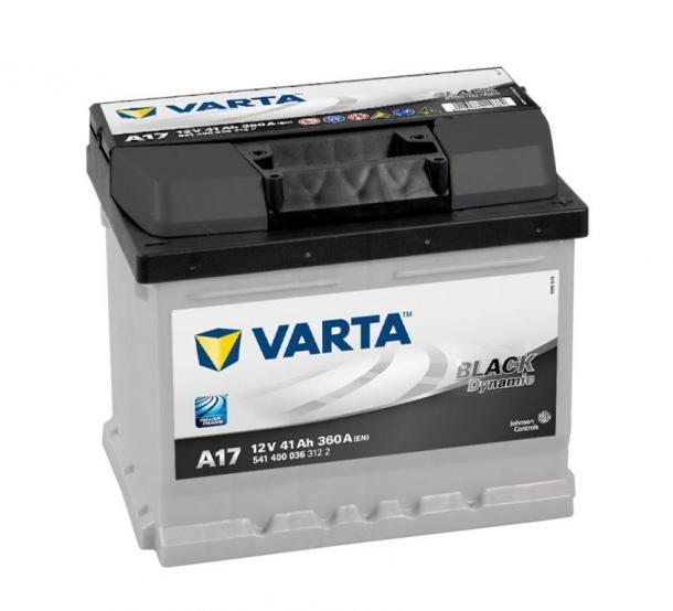 Varta Black Dynamic akkumulátor 12v 41ah jobb+