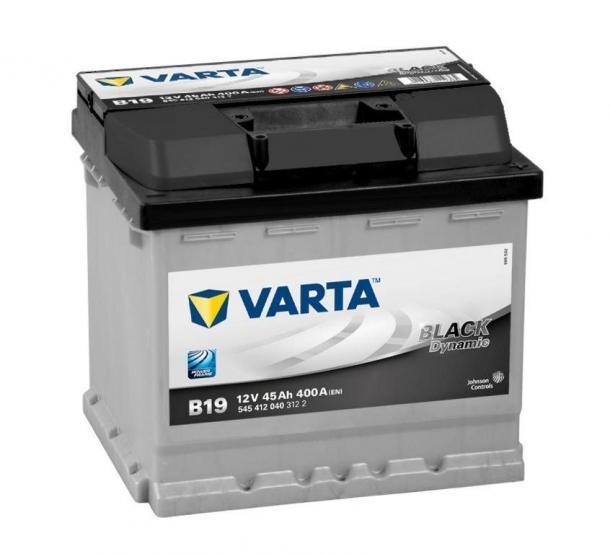 Varta Black Dynamic akkumulátor 12v 45ah jobb+