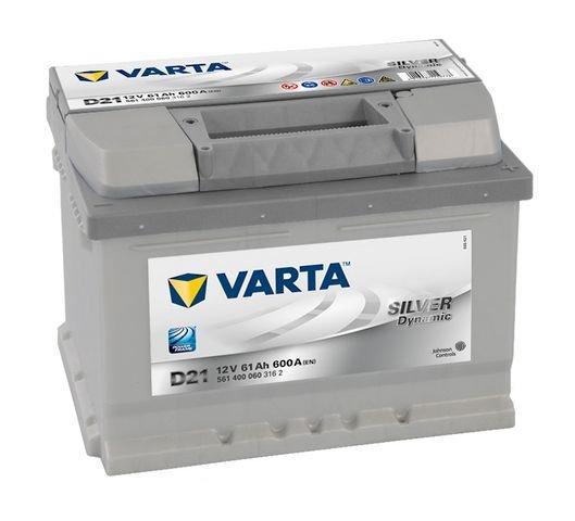 Varta Silver Dynamic akkumulátor 12v 61ah jobb+