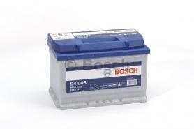 Bosch S4 akkumulátor 12v 74ah jobb+