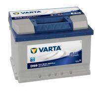 Varta Blue Dynamic 12V 60Ah jobb+ alacsony kivitel autó akkumulátor akku